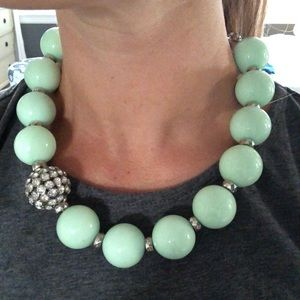 Mint Chunky Necklace